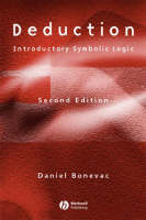 Deduction: Introductory Symbolic Logic (Paperback)