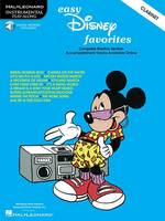 Easy Disney Favorites For Clarinet (Paperback)