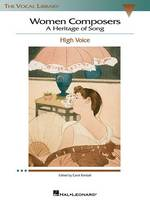 Women Composers: A Heritage Of Song (High Voice) (Paperback)