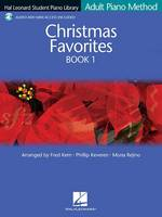 Adult Piano Method - Christmas Favorites Book 1: Hal Leonard Student Piano Library (Book)