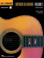 Hal Leonard Methode De Guitare Volume 1 (Book/Online Audio)