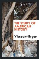The Study of American History (Paperback)