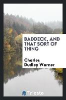 Baddeck, and That Sort of Thing