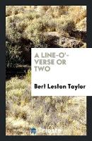 A Line-O'-Verse or Two (Paperback)