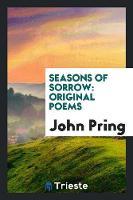 Seasons of Sorrow: Original Poems (Paperback)