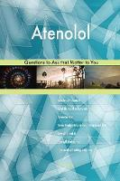 Atenolol 503 Questions to Ask That Matter to You (Paperback)