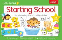 Little Genius Early Learning Puzzle Box - Starting School