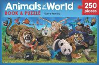 Animals of the World Book and Puzzle (Paperback)