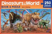 Dinosaurs of the World Book and Puzzle (Paperback)