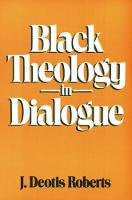 Black Theology in Dialogue (Paperback)