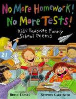 No More Homework, No More Tests (Paperback)