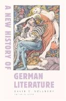 A New History of German Literature - Harvard University Press Reference Library (Hardback)