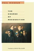 The Course of Recognition - Institute for Human Sciences Vienna Lecture Series (Paperback)