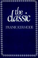 The Classic: Literary Images of Permanence and Change (Paperback)