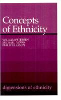 Concepts of Ethnicity (Paperback)