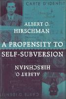 A Propensity to Self-Subversion (Paperback)