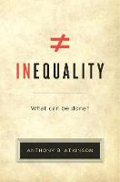 Inequality: What Can be Done? (Paperback)