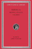 Moral Essays, Volume III: De Beneficiis - Loeb Classical Library *CONTINS TO info@harvardup.co.uk (Hardback)