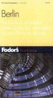 Berlin - Fodor's Guides (Paperback)