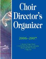 Choir Director's Organizer (Paperback)
