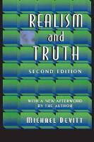 Realism and Truth: Second Edition (Paperback)