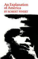 An Explanation of America - Princeton Series of Contemporary Poets (Hardback)