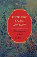 Knowledge, Reason, and Taste: Kant's Response to Hume (Paperback)