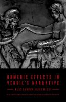 Homeric Effects in Vergil's Narrative: Updated Edition (Hardback)