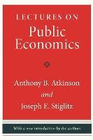Lectures on Public Economics (Hardback)