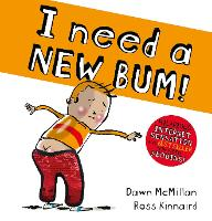 I Need a New Bum Sequin Edition (PB) (Paperback)