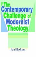 Contemporary Challenge of Modernist Theology (Hardback)
