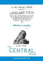 The Central Fells: A Pictorial Guide to the Lakeland Fells - Wainwright Readers Edition 3 (Hardback)