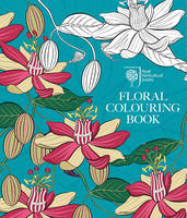 RHS Floral Colouring Book (Paperback)