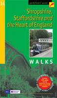 Shropshire, Staffordshire and the Heart of England: Walks - Pathfinder Guide No. 14 (Paperback)