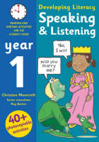 Speaking and Listening - Year 1: Photocopiable Activities for the Literacy Hour - Developing Literacy (Paperback)