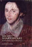 Secret Shakespeare: Studies in Theatre, Religion and Resistance (Paperback)