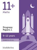 11+ Maths Progress Papers Book 1: KS2, Ages 9-12 (Paperback)