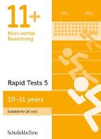 11+ Non-verbal Reasoning Rapid Tests Book 5: Year 6, Ages 10-11