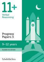 11+ Verbal Reasoning Progress Papers Book 3: KS2, Ages 9-12 (Paperback)