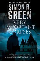 Very Important Corpses - An Ishmael Jones Mystery 3 (Hardback)