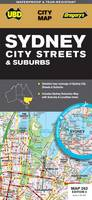 Sydney City Streets and Suburbs 2014 (Sheet map, folded)