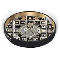 Christian Lacroix Fall 2019 Round Lacquer Tray