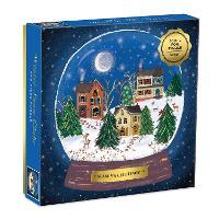 Winter Snow Globe 500 Piece Puzzle