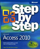 Microsoft Access 2010 Step by Step