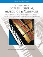 The Complete Book of Scales, Chords, Arpeggios: & Cadences (Book)