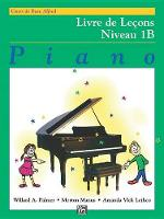 Alfred'S Basic Piano Library Lesson 1b Frans (Book)