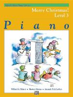Alfred'S Basic Piano Library Merry Christmas 3 (Book)