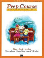 Alfred'S Basic Piano Library Prep Course Theory a (Book)