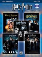 Harry Potter Instrumental Solos (Movies 1-5): Alto Saxophone