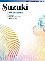 Suzuki Violin School 1 - Piano Acc. (Revised)